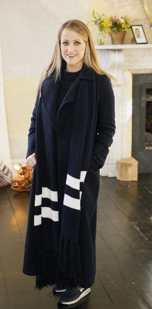 Justine King at the launch of Mint Velvet's new Spring/Summer 2018 collection at 23 Leinster Road -photo Kieran Harnett