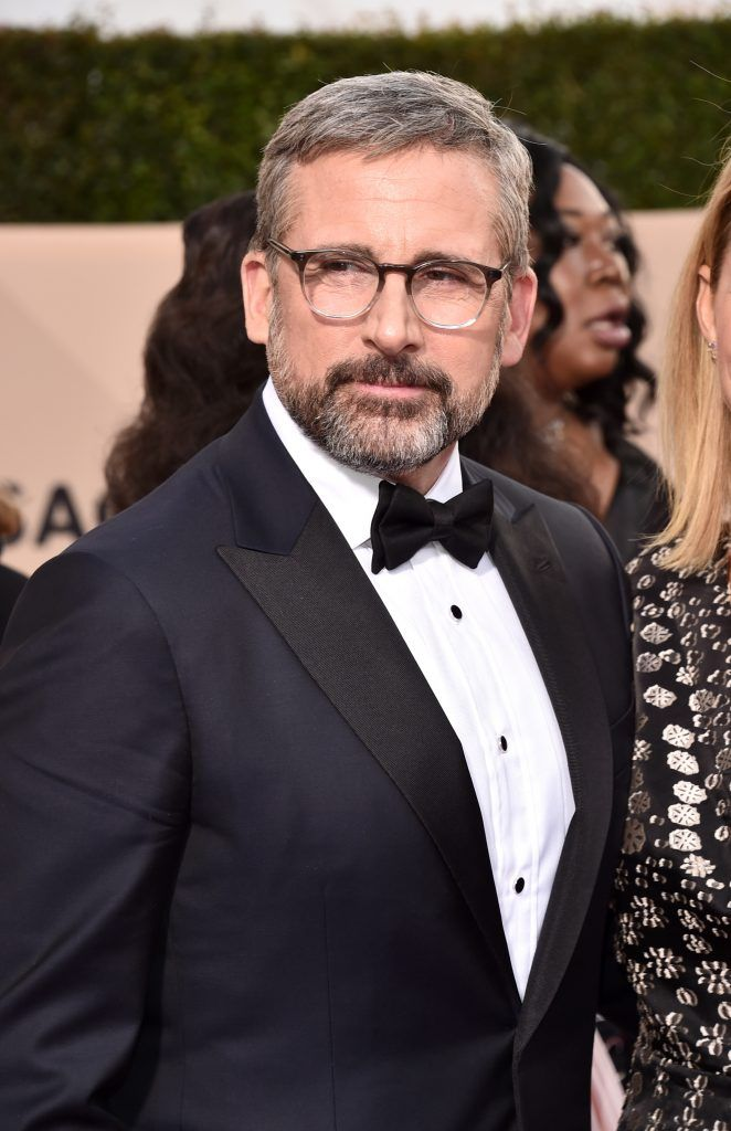 LOS ANGELES, CA - JANUARY 21:  Actor Steve Carrell attends the 24th Annual Screen Actors Guild Awards at The Shrine Auditorium on January 21, 2018 in Los Angeles, California. 27522_006  (Photo by Alberto E. Rodriguez/Getty Images)