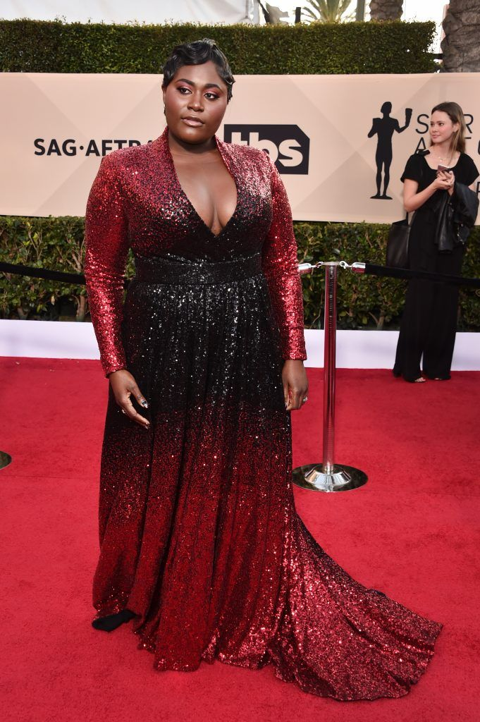 LOS ANGELES, CA - JANUARY 21:  Actor Danielle Brooks attends the 24th Annual Screen Actors Guild Awards at The Shrine Auditorium on January 21, 2018 in Los Angeles, California. 27522_006  (Photo by Alberto E. Rodriguez/Getty Images)