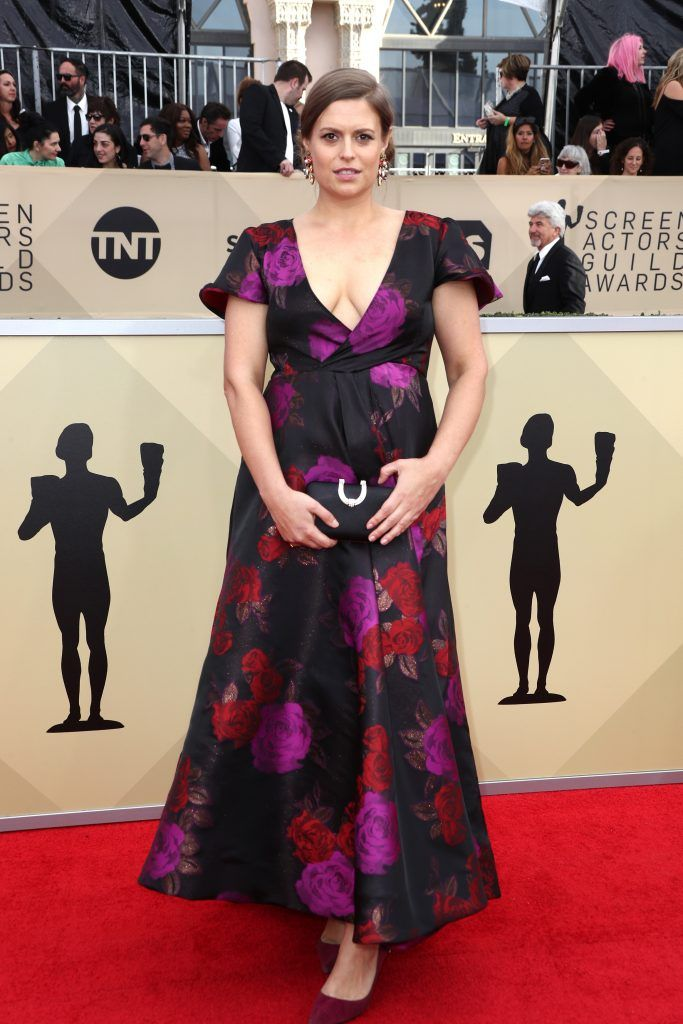 LOS ANGELES, CA - JANUARY 21:  Actor Marianna Palka attends the 24th Annual Screen Actors Guild Awards at The Shrine Auditorium on January 21, 2018 in Los Angeles, California. 27522_017  (Photo by Frederick M. Brown/Getty Images)