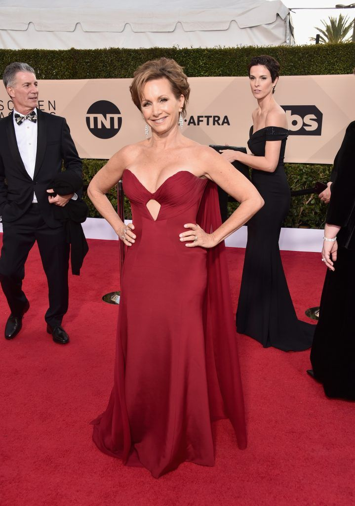 LOS ANGELES, CA - JANUARY 21:  SAG President Gabrielle Carteris attends the 24th Annual Screen Actors Guild Awards at The Shrine Auditorium on January 21, 2018 in Los Angeles, California. 27522_006  (Photo by Alberto E. Rodriguez/Getty Images)
