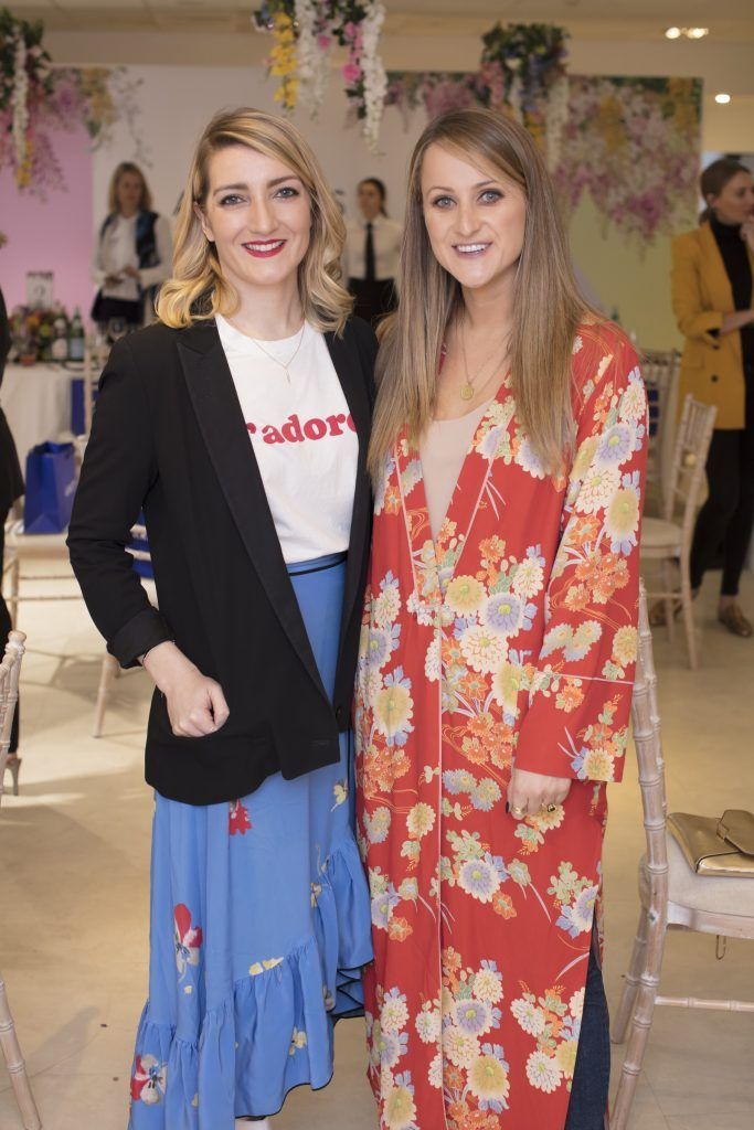 Rochelle Hanley & Justine King pictured at the launch of the Arnotts Spring/Summer '18 collection. Photo: Anthony Woods