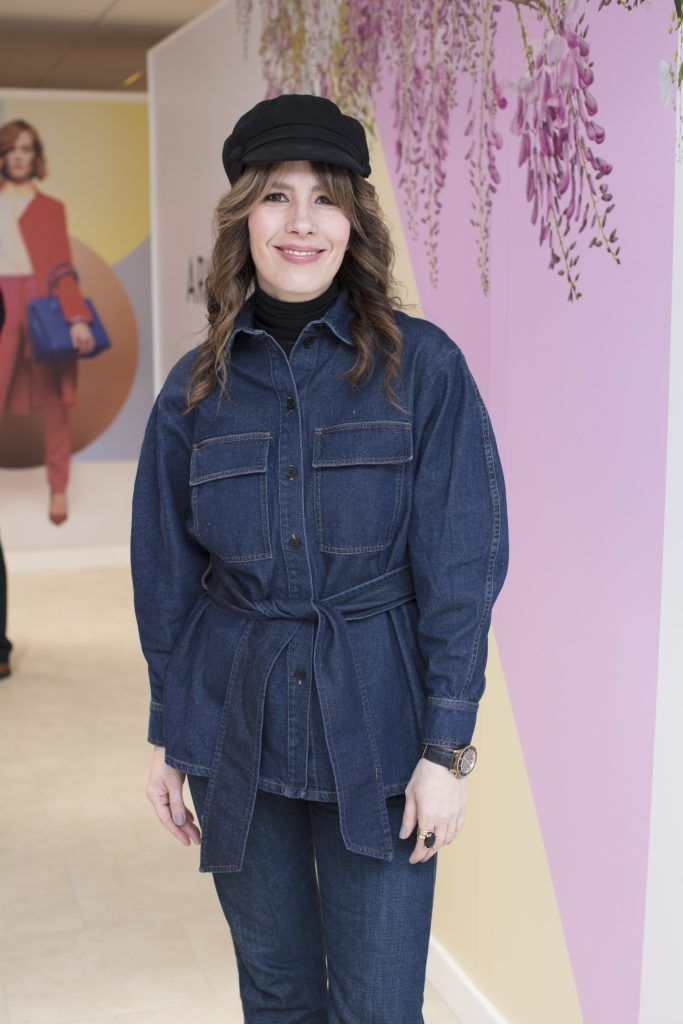 Annmarie O'Connor pictured at the launch of the Arnotts Spring/Summer '18 collection. Photo: Anthony Woods
