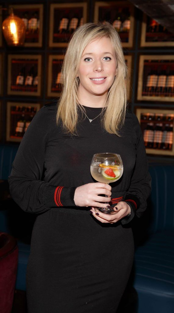 Dee Laffan at the relaunch of the lounge bar and Boss Crokers snug bar at Sandyford House in Sandyford Village, Dublin 18 (1st February 2018). Picture by Andres Poveda
