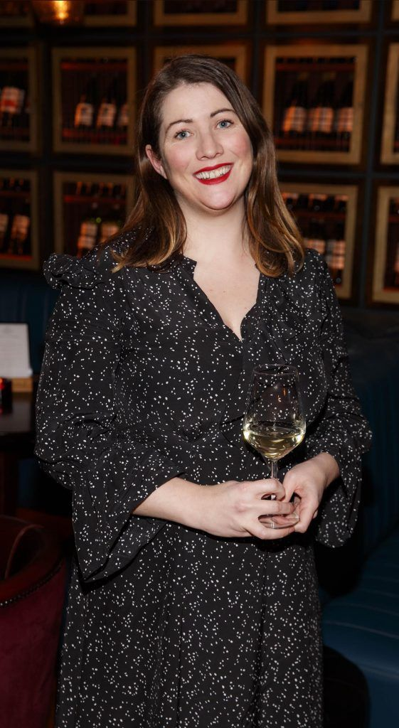 Ali Dunworth at the relaunch of the lounge bar and Boss Crokers snug bar at Sandyford House in Sandyford Village, Dublin 18 (1st February 2018). Picture by Andres Poveda