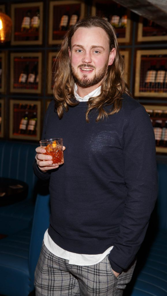 Chris Mellon at the relaunch of the lounge bar and Boss Crokers snug bar at Sandyford House in Sandyford Village, Dublin 18 (1st February 2018). Picture by Andres Poveda