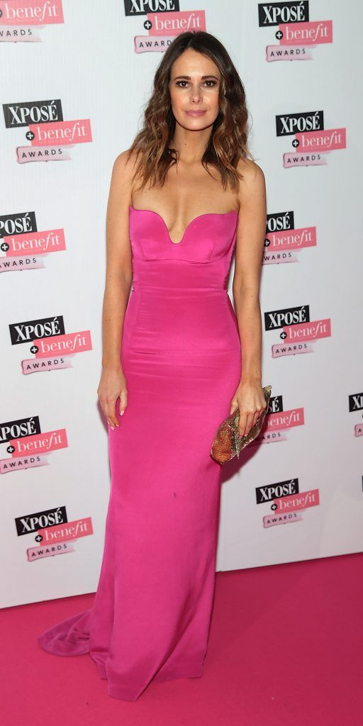 Carol Byrne at the inaugural Xpose Benefit Awards that took place in The Mansion House, Dublin to celebrate the best in fashion and entertainment in Ireland. Picture: Brian McEvoy