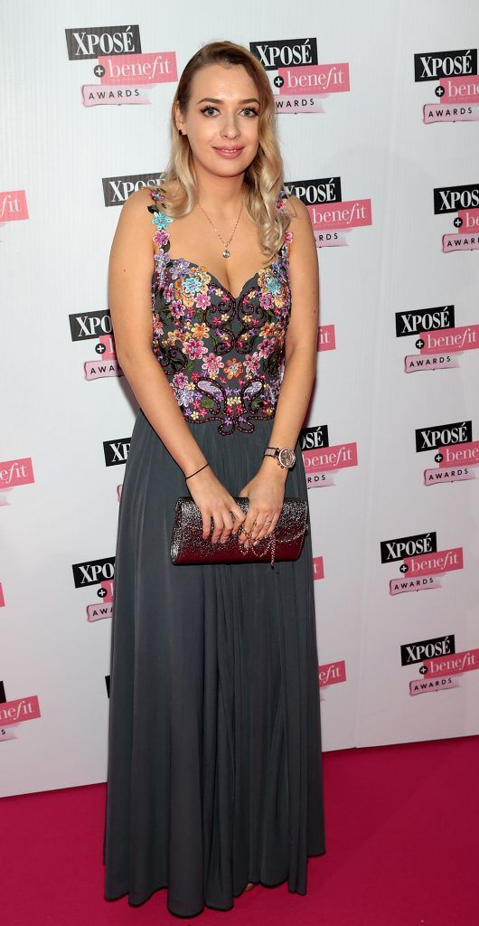 Anastasia Yerofeyeva at the inaugural Xpose Benefit Awards that took place in The Mansion House, Dublin to celebrate the best in fashion and entertainment in Ireland. Picture: Brian McEvoy
