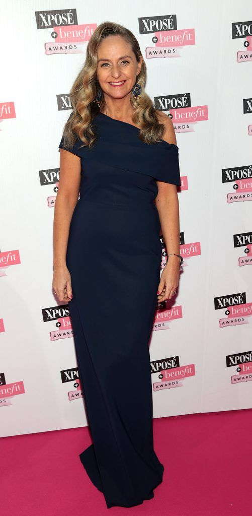 Debbie O Donnell at the inaugural Xpose Benefit Awards that took place in The Mansion House, Dublin to celebrate the best in fashion and entertainment in Ireland. Picture: Brian McEvoy