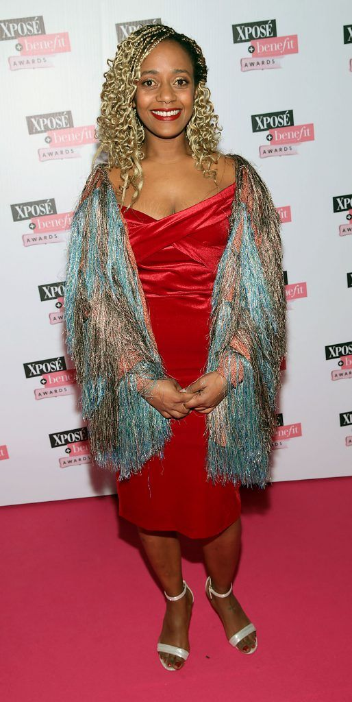 Caroline Lambe at the inaugural Xpose Benefit Awards that took place in The Mansion House, Dublin to celebrate the best in fashion and entertainment in Ireland. Picture: Brian McEvoy