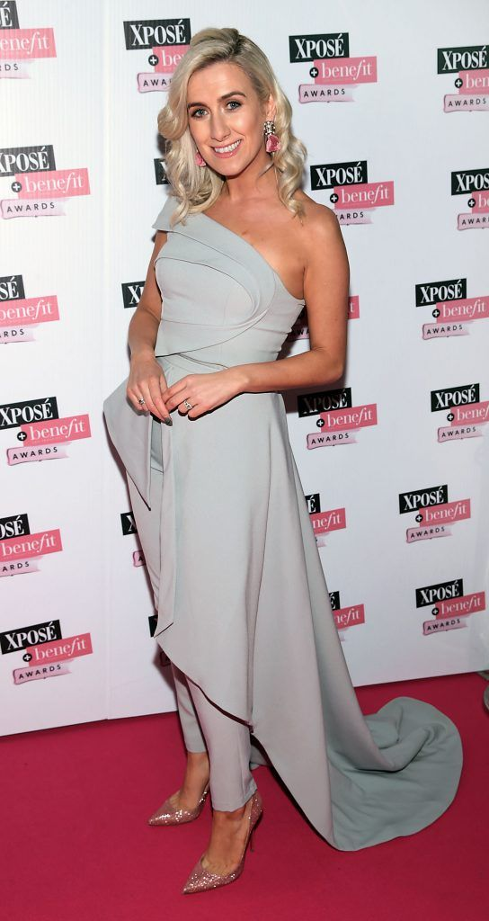 Ciara Doherty at the inaugural Xpose Benefit Awards that took place in The Mansion House, Dublin to celebrate the best in fashion and entertainment in Ireland. Picture: Brian McEvoy