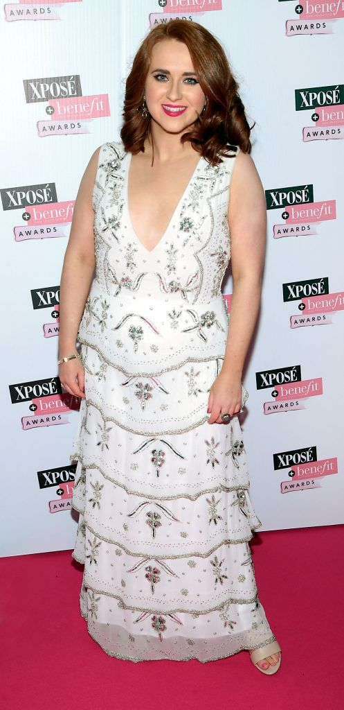 Kate Kelly at the inaugural Xpose Benefit Awards that took place in The Mansion House, Dublin to celebrate the best in fashion and entertainment in Ireland. Picture: Brian McEvoy
