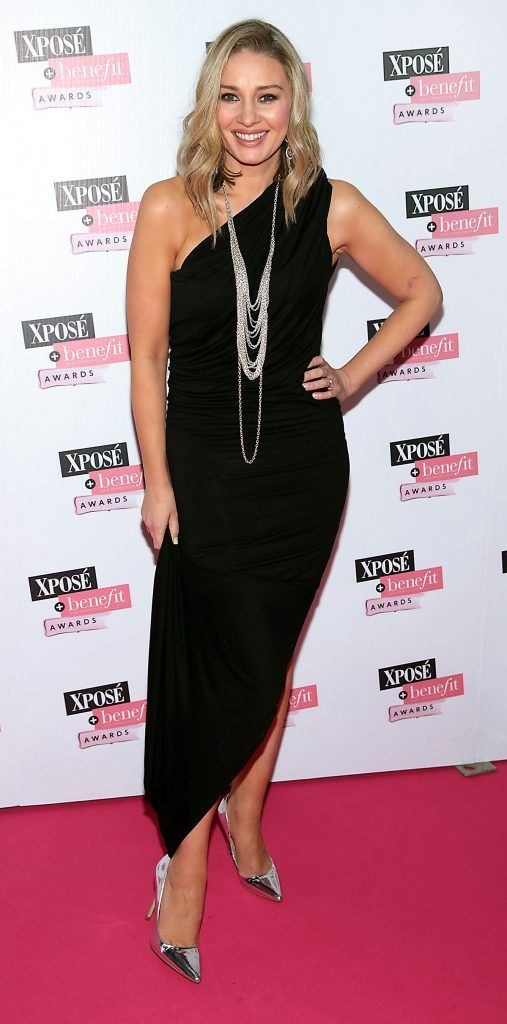 Anna Daly at the inaugural Xpose Benefit Awards that took place in The Mansion House, Dublin to celebrate the best in fashion and entertainment in Ireland. Picture: Brian McEvoy