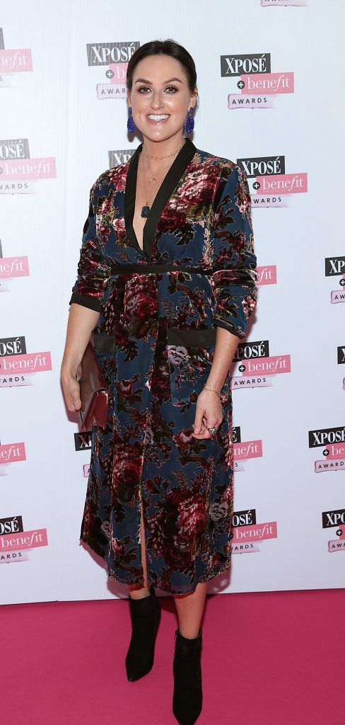 Lyndsey Cavanagh at the inaugural Xpose Benefit Awards that took place in The Mansion House, Dublin to celebrate the best in fashion and entertainment in Ireland. Picture: Brian McEvoy