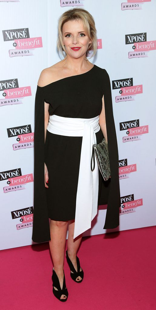 Denise McCormack at the inaugural Xpose Benefit Awards that took place in The Mansion House, Dublin to celebrate the best in fashion and entertainment in Ireland. Picture: Brian McEvoy