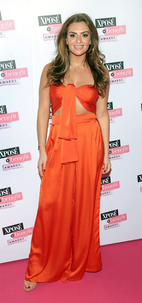 Lisa Nolan at the inaugural Xpose Benefit Awards that took place in The Mansion House, Dublin to celebrate the best in fashion and entertainment in Ireland. Picture: Brian McEvoy