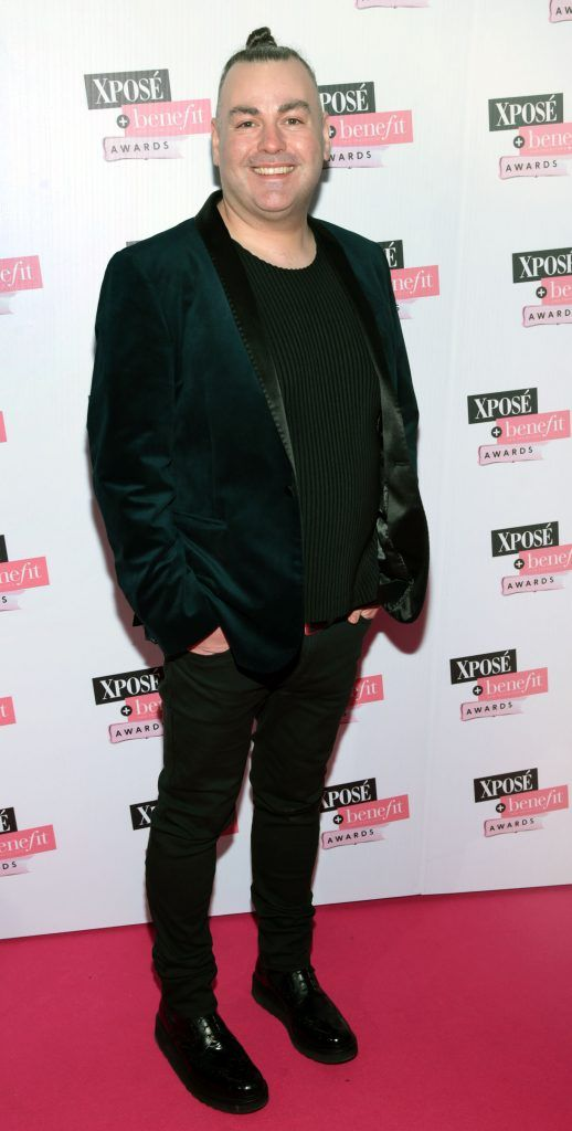 Leonard Daly at the inaugural Xpose Benefit Awards that took place in The Mansion House, Dublin to celebrate the best in fashion and entertainment in Ireland. Picture: Brian McEvoy