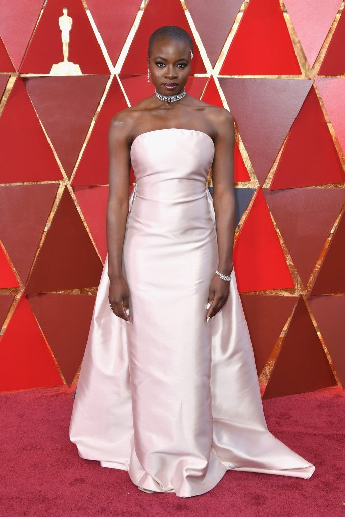 HOLLYWOOD, CA - MARCH 04: Danai Gurira attends the 90th Annual Academy Awards at Hollywood & Highland Center on March 4, 2018 in Hollywood, California.  (Photo by Neilson Barnard/Getty Images)