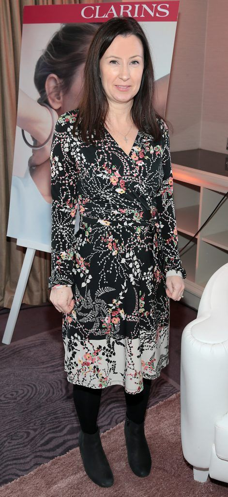Fiona Lambert pictured at the launch of Clarins Extra Firming at The Westbury Hotel, Dublin. Pic Brian McEvoy