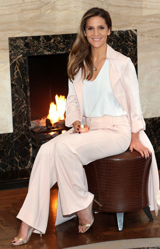 Clarins launch 'Extra Firming' with guest Amanda Byram