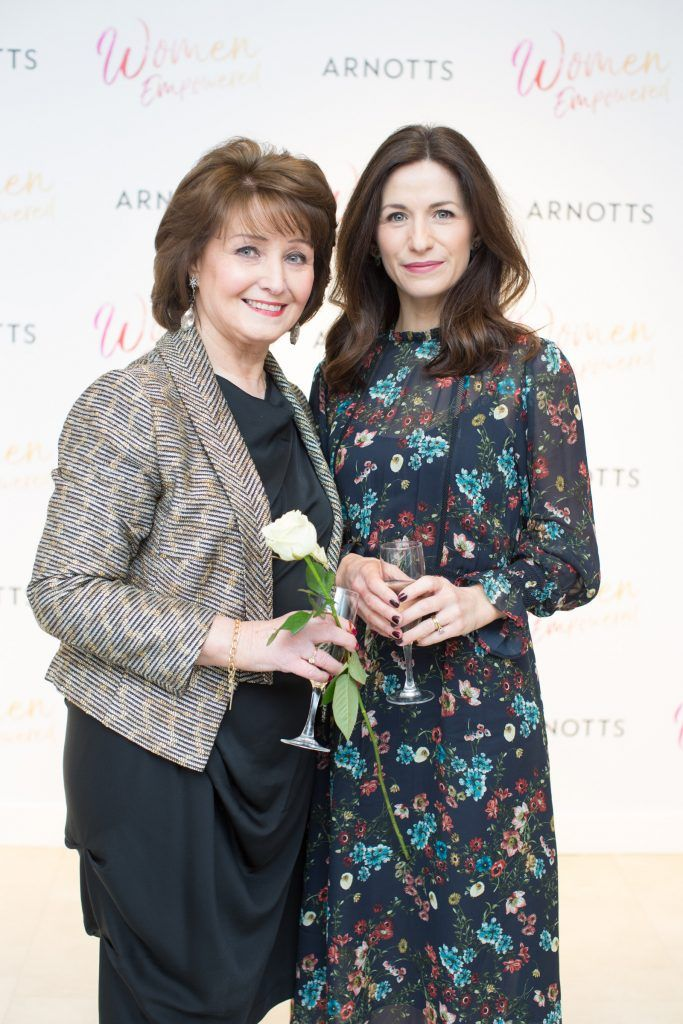Grainne & Ciara Keenan pictured attending the Arnotts Women Empowered Event. Photo: Anthony Woods