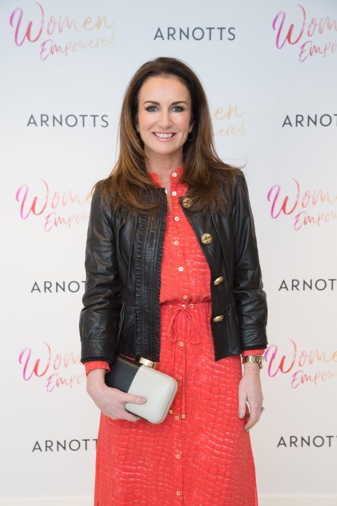 Lorraine Keane pictured attending the Arnotts Women Empowered Event. Photo: Anthony Woods