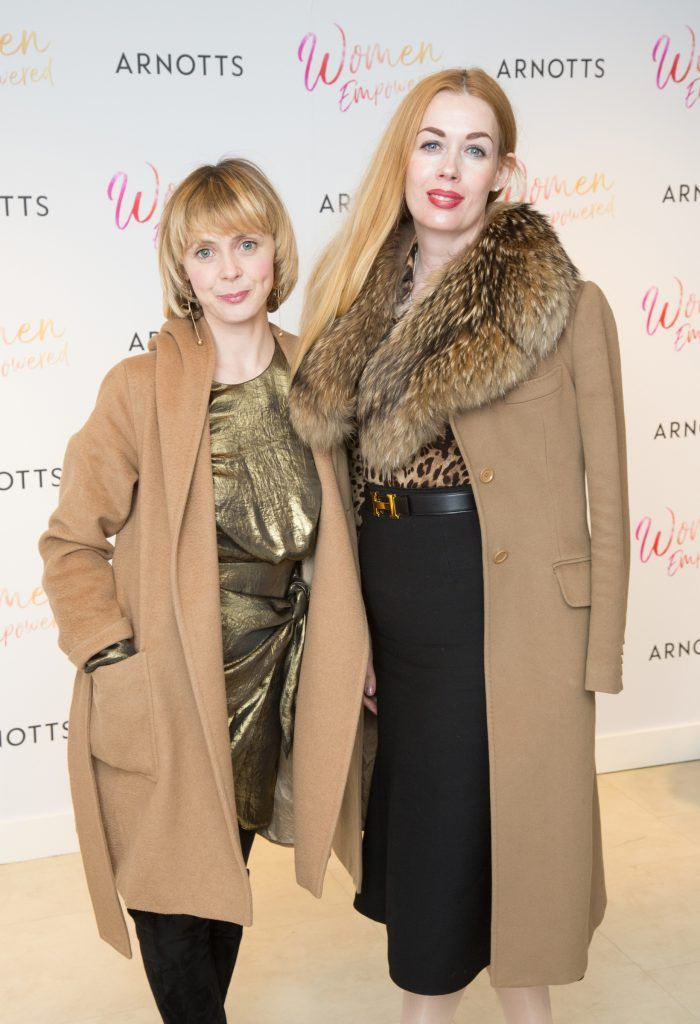 Susan Hourican & Fiona Foy Holland pictured attending the Arnotts Women Empowered Event. Photo: Anthony Woods