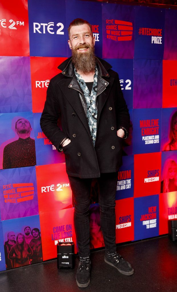 Steve Reddy pictured at the RTE Choice Music Prize at Vicar Street, March 8th 2018. Picture by Andres Poveda