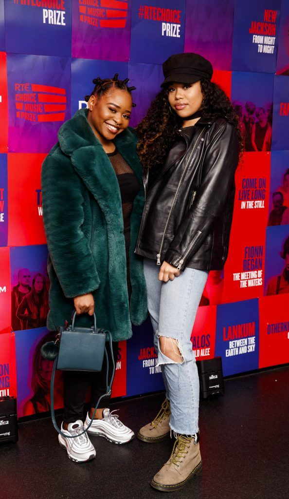 Soulé and Ghaliah Conroy pictured at the RTE Choice Music Prize at Vicar Street, March 8th 2018. Picture by Andres Poveda