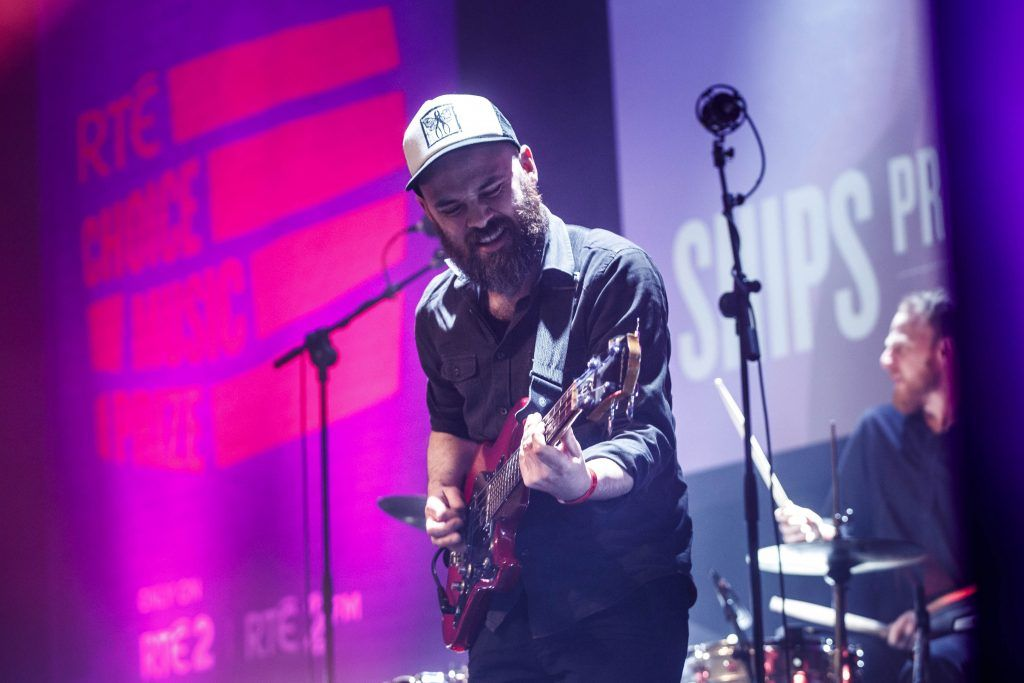 Ships pictured performing at the RTE Choice Music Prize at Vicar Street, March 8th 2018. Picture by Andres Poveda