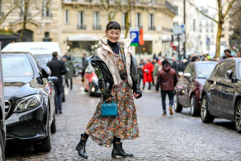 Paris Fashion Week Street style after the Sacai Fall/Winter 2018 Show.  Featuring: Rei Shito Where: Paris, France When: 05 Mar 2018 Credit: Brian Dowling/WENN.com
