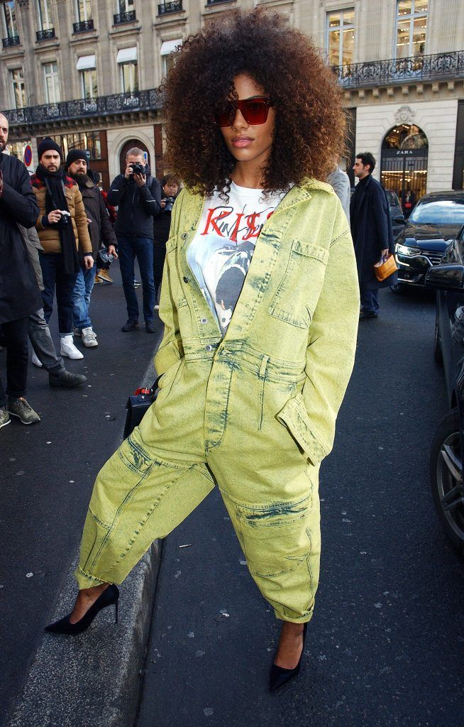 Paris Fashion Week Womenswear Fall/Winter 2018/2019 - Stella McCartney - Arrivals  Featuring: Tina Kunakey Where: Paris, Île-de-France, France When: 05 Mar 2018 Credit: WENN.com  **Not available for publication in France, Belgium, Spain, Italy**