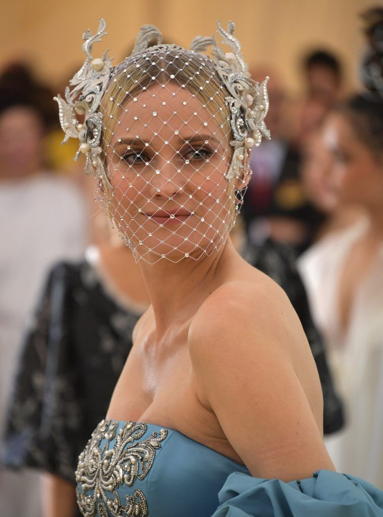NEW YORK, NY - MAY 07:  Diane Kruger attends the Heavenly Bodies: Fashion & The Catholic Imagination Costume Institute Gala at The Metropolitan Museum of Art on May 7, 2018 in New York City.  (Photo by Neilson Barnard/Getty Images)
