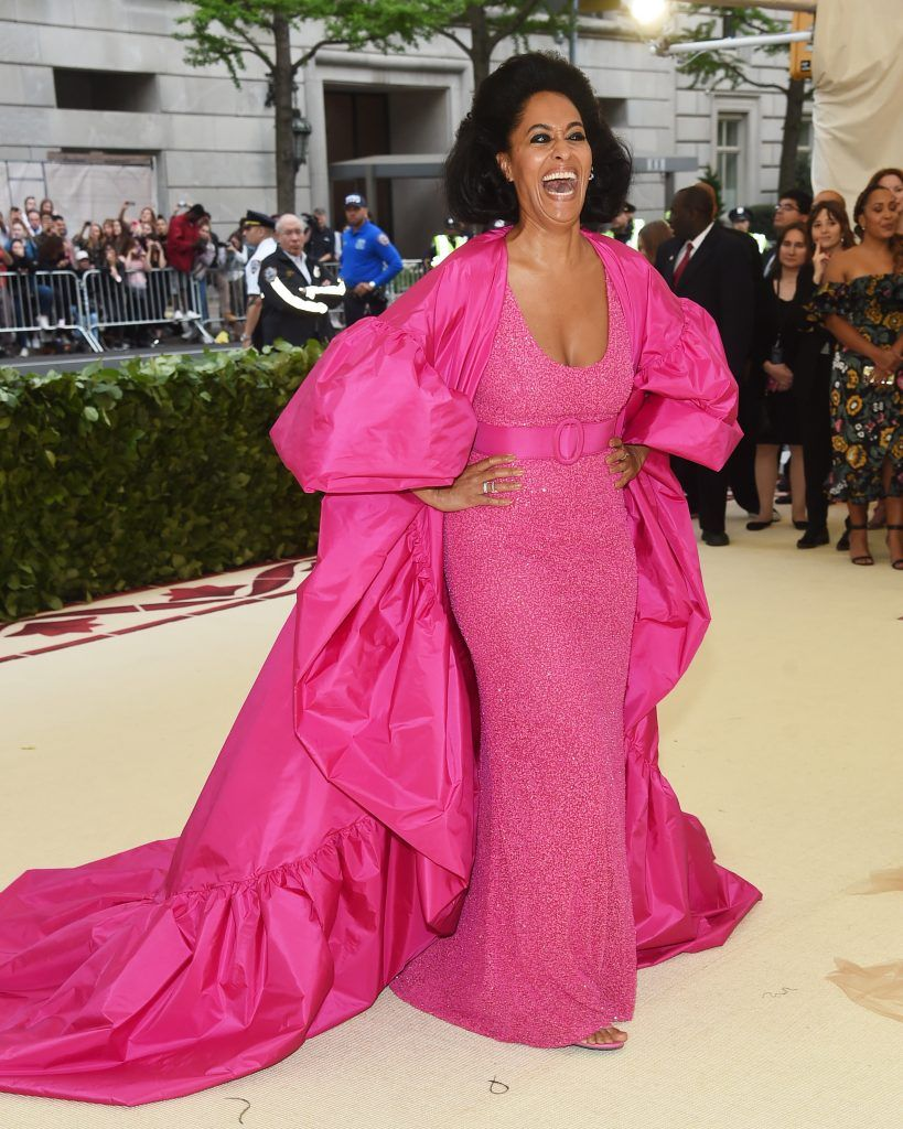 NEW YORK, NY - MAY 07:  Tracee Ellis Ross attends the Heavenly Bodies: Fashion & The Catholic Imagination Costume Institute Gala at The Metropolitan Museum of Art on May 7, 2018 in New York City.  (Photo by Jamie McCarthy/Getty Images)