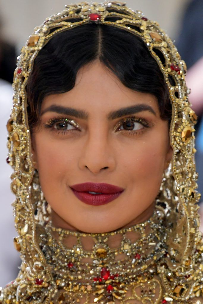 NEW YORK, NY - MAY 07:  Priyanka Chopra attends the Heavenly Bodies: Fashion & The Catholic Imagination Costume Institute Gala at The Metropolitan Museum of Art on May 7, 2018 in New York City.  (Photo by Neilson Barnard/Getty Images)