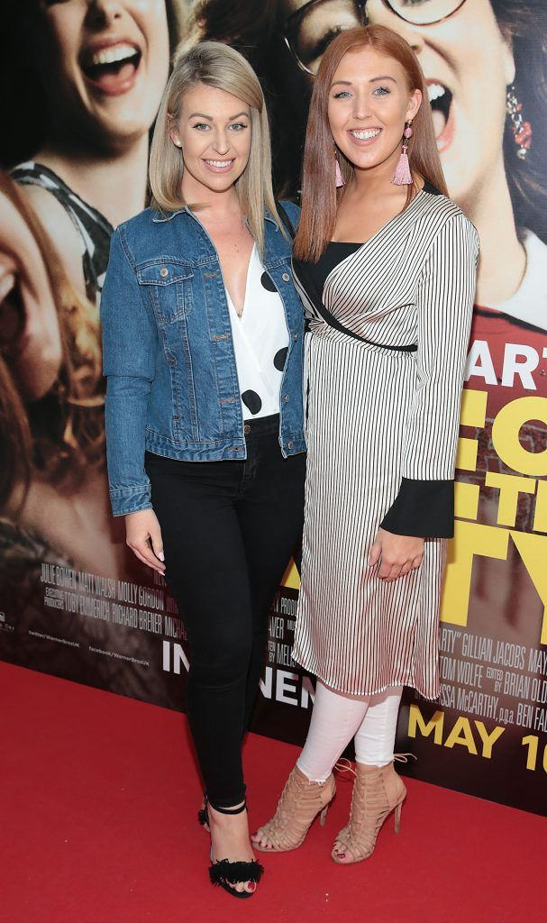 Ciara Gough and Nicole Gough at the special preview screening of Life of the Party at Omniplex Cinema in Rathmines, Dublin. Picture by Brian McEvoy