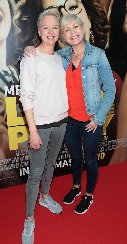 Carmel Cunningham and Joanna O Byrne at the special preview screening of Life of the Party at Omniplex Cinema in Rathmines, Dublin. Picture by Brian McEvoy