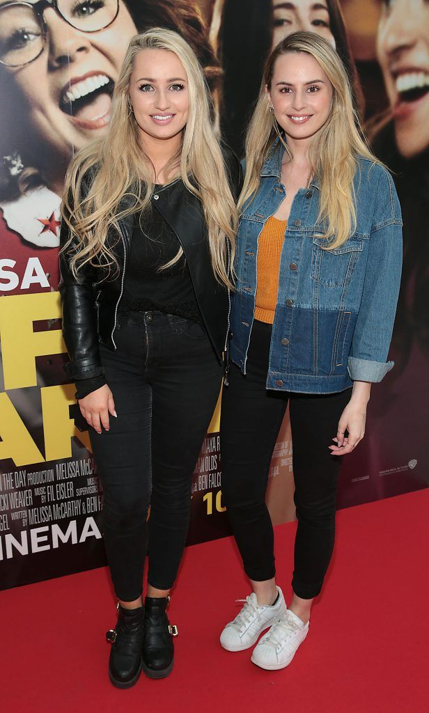 Hannah Cassidy and Katelyn Cassidy at the special preview screening of Life of the Party at Omniplex Cinema in Rathmines, Dublin. Picture by Brian McEvoy