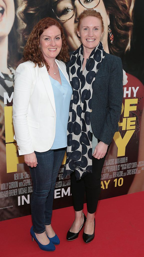 Maria Burke and Grainne Millar at the special preview screening of Life of the Party at Omniplex Cinema in Rathmines, Dublin. Picture by Brian McEvoy