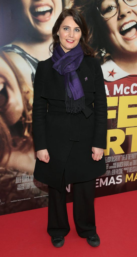 Tanya Loftus Durkin at the special preview screening of Life of the Party at Omniplex Cinema in Rathmines, Dublin. Picture by Brian McEvoy