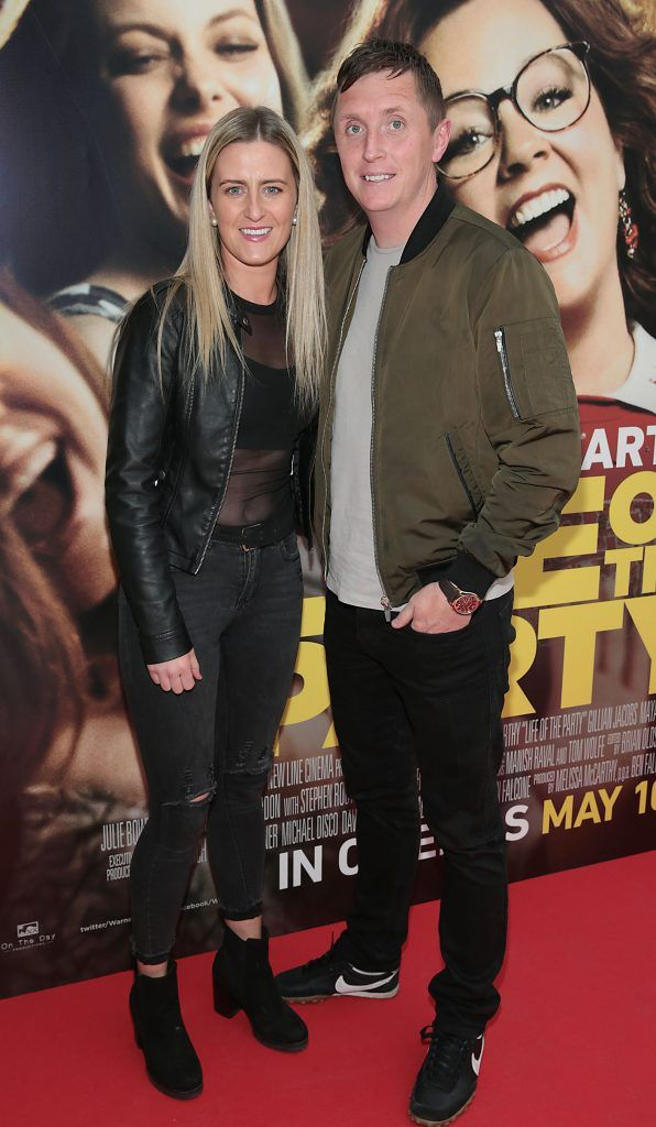 Rowena Murphy and Robbie Byrne at the special preview screening of Life of the Party at Omniplex Cinema in Rathmines, Dublin. Picture by Brian McEvoy