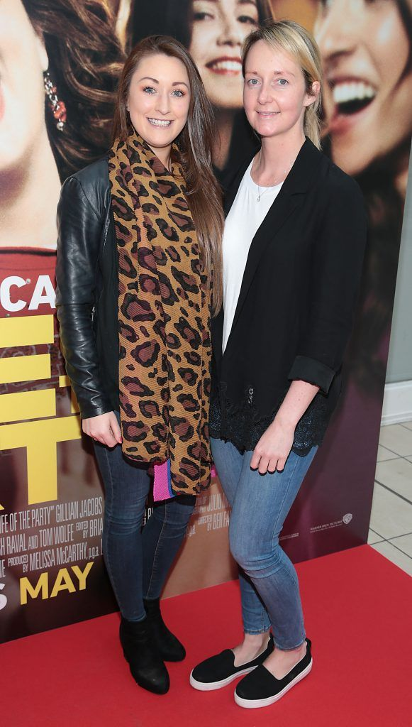 Louise Rowley and Karen O Brien at the special preview screening of Life of the Party at Omniplex Cinema in Rathmines, Dublin. Picture by Brian McEvoy