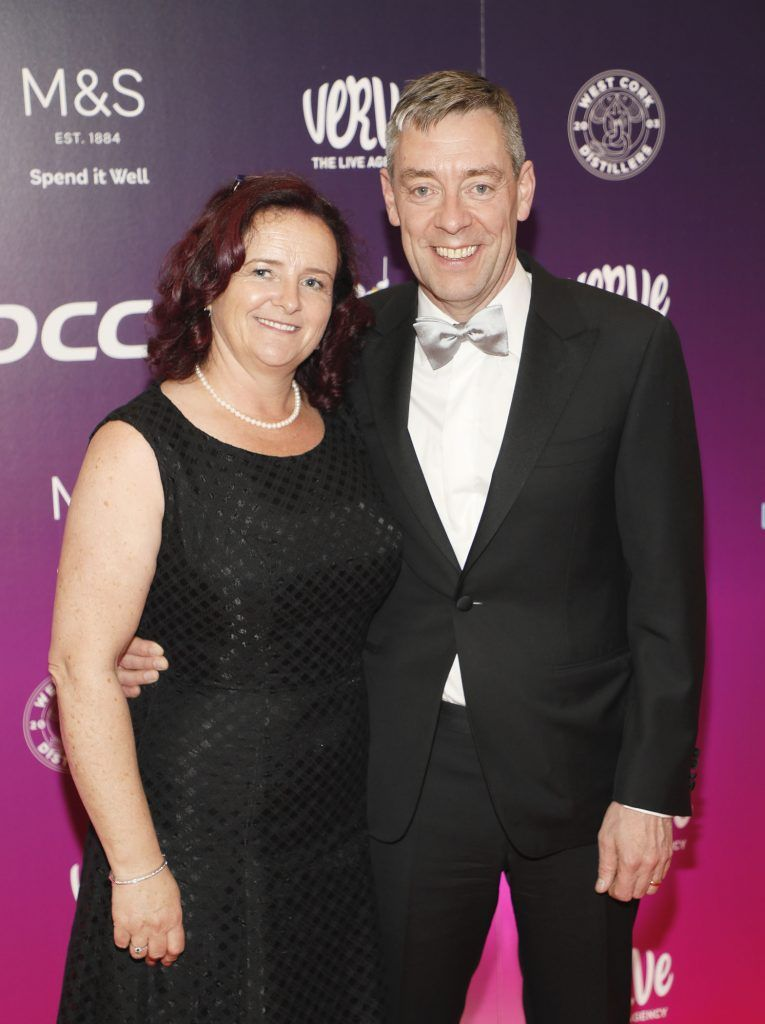 Máiréad and Donal Murphy from DCC Plc at the third annual LauraLynn Heroes Ball at Dublin's InterContinental Hotel, May 12th 2018. Photo: Kieran Harnett