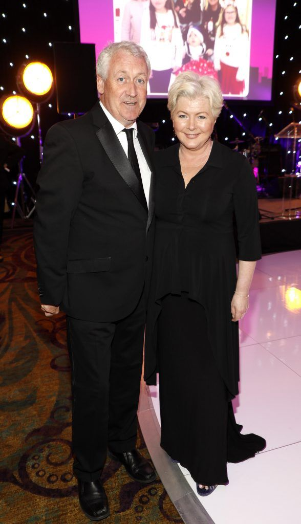 Barry Murphy and Flo McSweeney at the third annual LauraLynn Heroes Ball at Dublin's InterContinental Hotel, May 12th 2018. Photo: Kieran Harnett