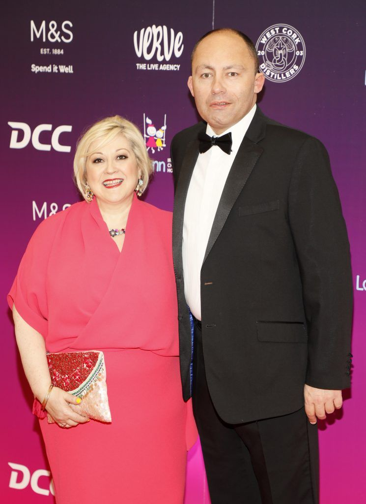 Carmel Breheny and Henry Wolverson at the third annual LauraLynn Heroes Ball at Dublin's InterContinental Hotel, May 12th 2018. Photo: Kieran Harnett