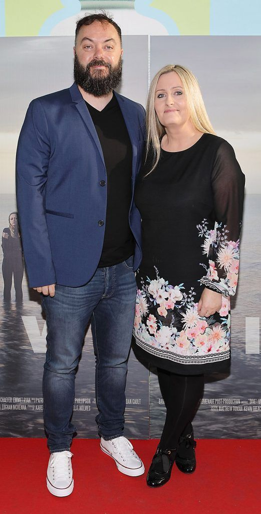 John Phillipson and Sarah Phillipson pictured at the premiere of the new Irish film DIVE at Omniplex Rathmines, Dublin. Photo by Brian McEvoy