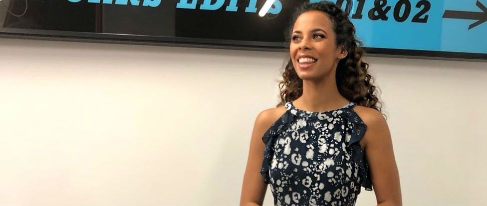 Rochelle Humes shows why Mint Velvet is the next label to know