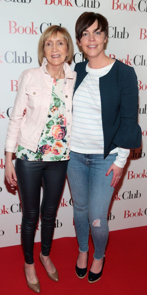 Eileen Culhane and Catherine O Dwyer  pictured at the special preview screening of Book Club in Movies at Dundrum, Dublin. Photo by Brian McEvoy