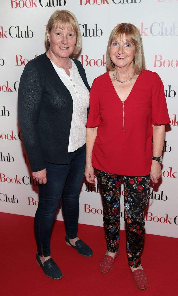 Elaine Kenna and Margaret Daly pictured at the special preview screening of Book Club in Movies at Dundrum, Dublin. Photo by Brian McEvoy