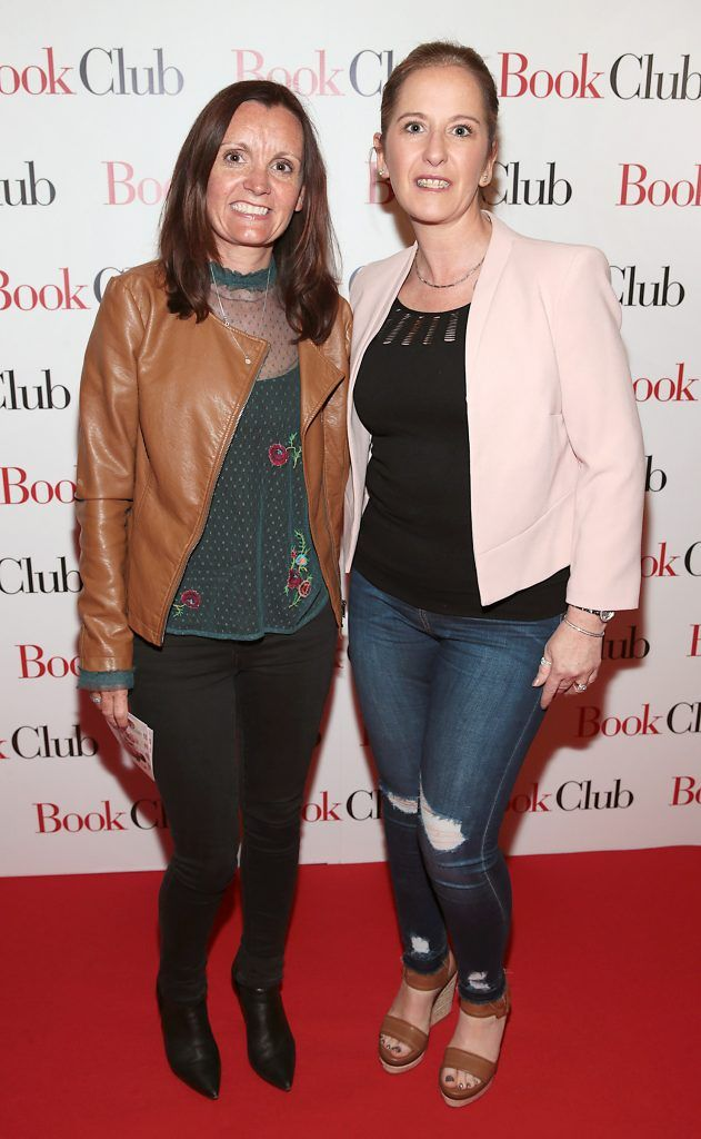 Susan Redmond and Suzanne Conway pictured at the special preview screening of Book Club in Movies at Dundrum, Dublin. Photo by Brian McEvoy